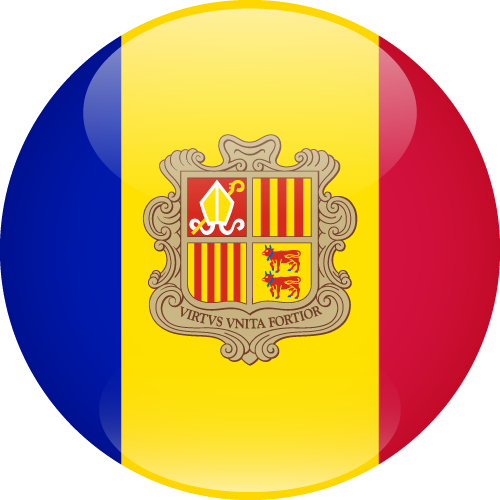 Vector flag of Andorra - Sphere