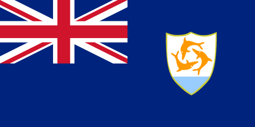Vector flag of Anguilla