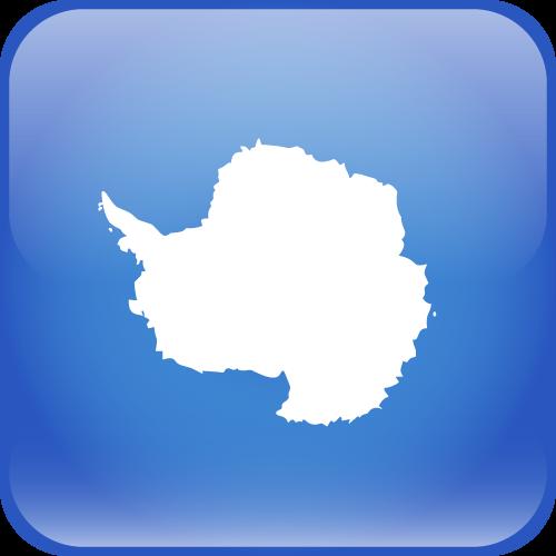 Vector flag of Antarctica - Cube