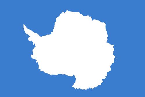 Vector flag of Antarctica