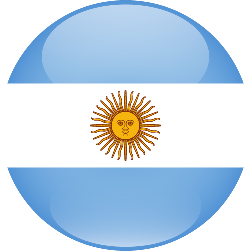 Vector flag of Argentina - Sphere