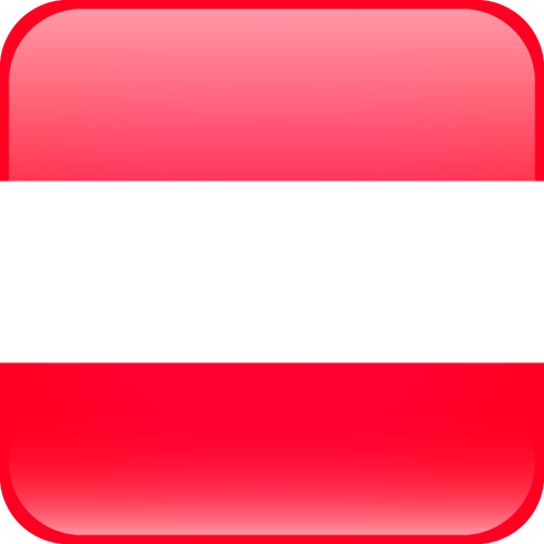 Vector flag of Austria - Cube