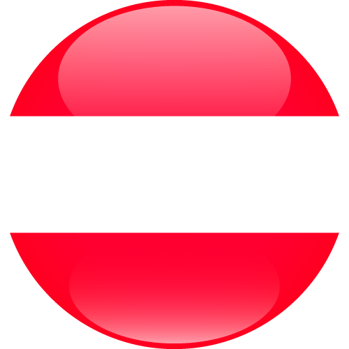 Vector flag of Austria - Sphere