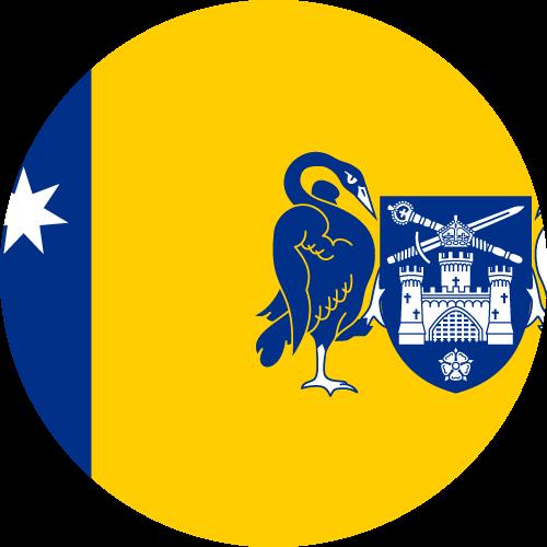 Vector flag of the Australian Capital Territory - Circle