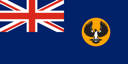 Vector flag of South Australia