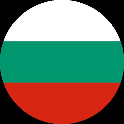 Vector flag of Bulgaria - Circle