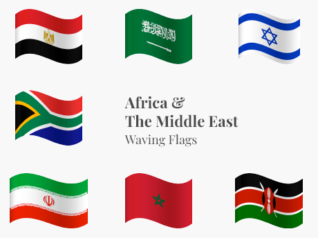 Africa & The Middle East Waving Bundle