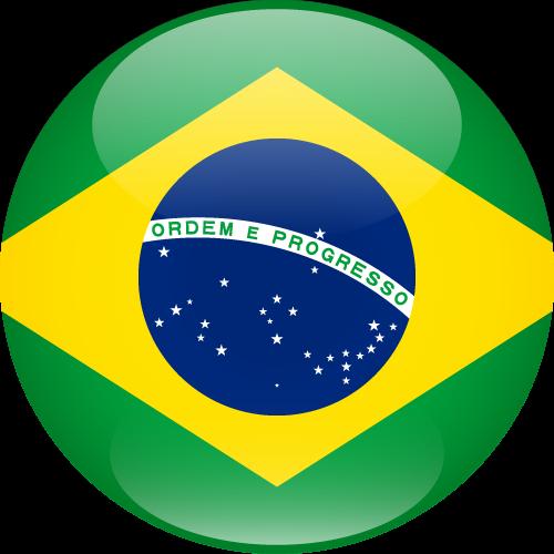 Vector flag of Brazil - Sphere