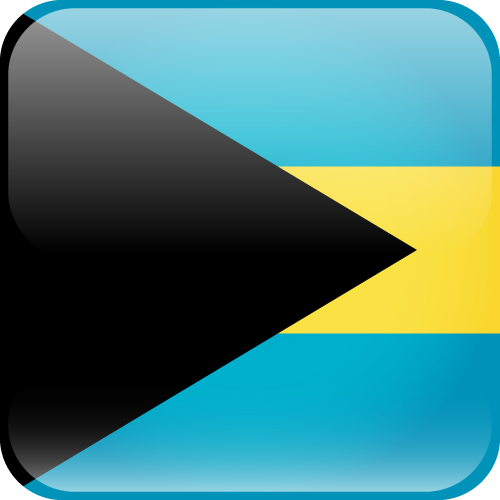 Vector flag of the Bahamas - Cube