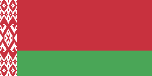 Vector flag of Belarus