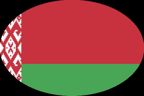 Vector flag of Belarus - Oval