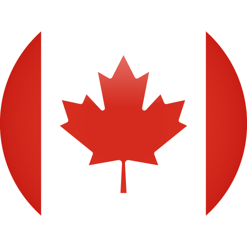 Vector flag of Canada - Sphere