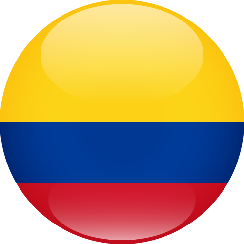 Vector flag of Colombia - Sphere