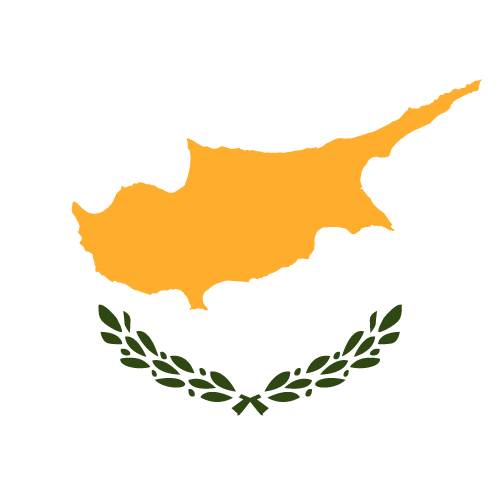 Vector flag of Cyprus - Button