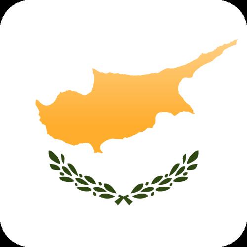 Vector flag of Cyprus - Cube