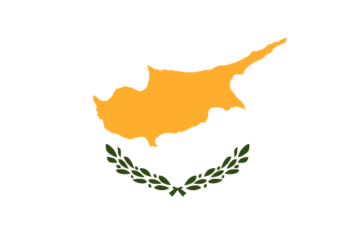 Vector flag of Cyprus - Oval