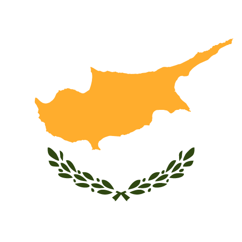 Vector flag of Cyprus - Square
