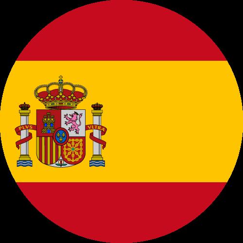 Vector flag of Spain - Circle
