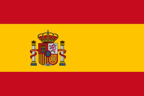 Vector flag of Spain