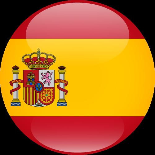 Vector flag of Spain - Sphere