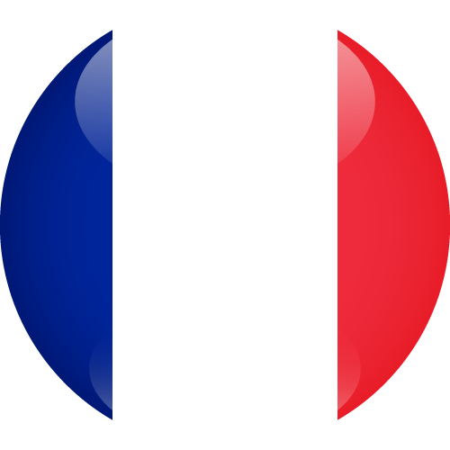 Vector flag of France - Sphere