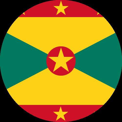 Vector flag of Grenada - Circle