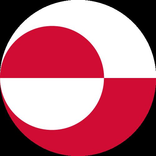 Vector flag of Greenland - Circle