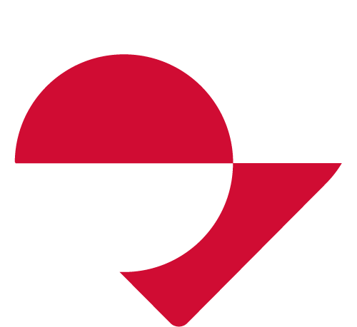 Vector flag of Greenland - Heart