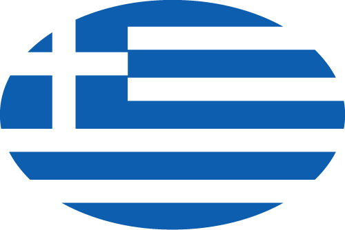 Vector flag of Greece - Oval