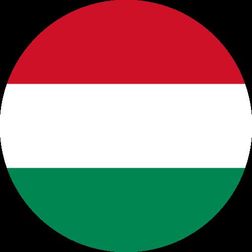 Vector flag of Hungary - Circle
