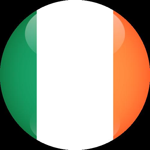 Vector flag of Ireland - Sphere