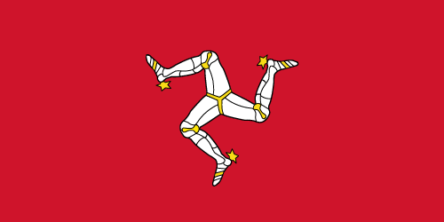 Vector flag of the Isle of Man
