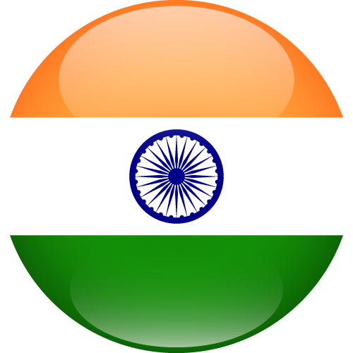 Vector flag of India - Sphere