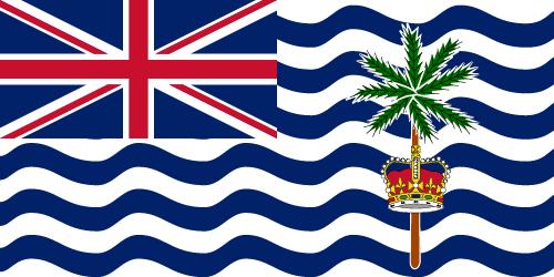 Vector flag of the British Indian Ocean Territory