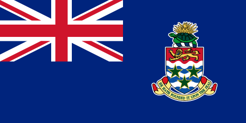 Vector flag of the Cayman Islands