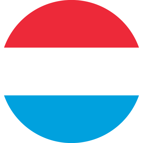 Vector flag of Luxembourg - Circle