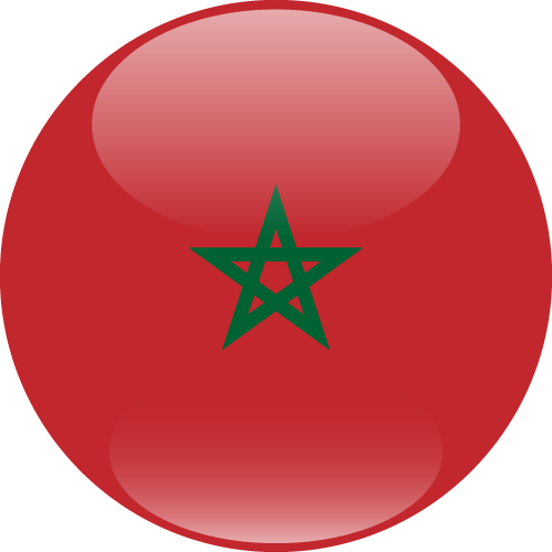 Vector flag of Morocco - Sphere