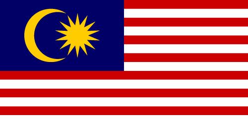Vector flag of Malaysia
