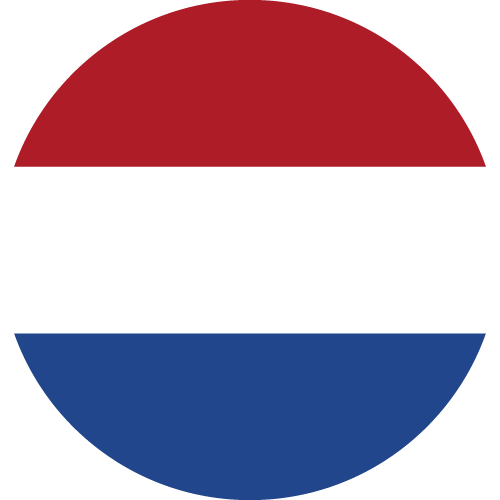 Vector flag of the Netherlands - Circle