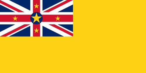 Vector flag of Niue