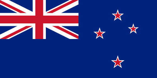 Vector flag of New Zealand