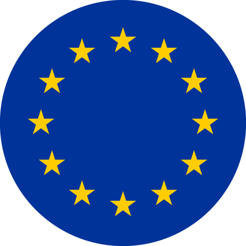 Vector flag of the European Union - Circle