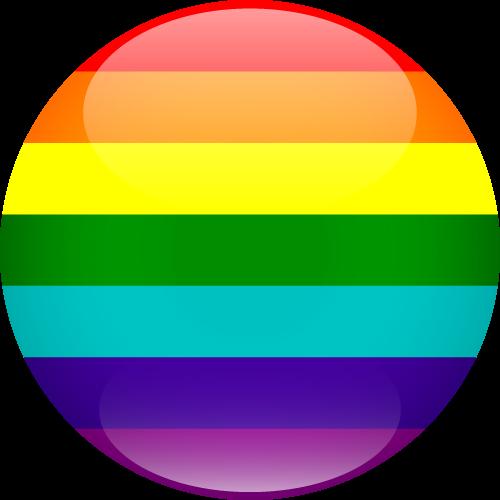 Vector flag of LGBTQ+ Pride - Sphere
