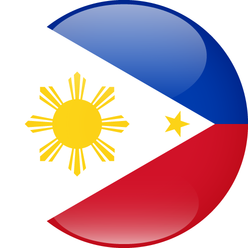 Vector flag of the Philippines - Sphere