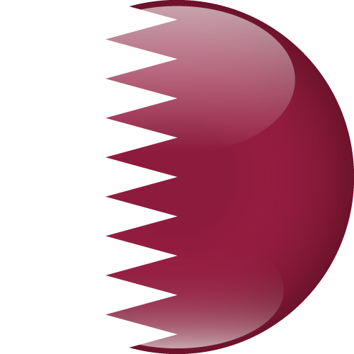 Vector flag of Qatar - Sphere