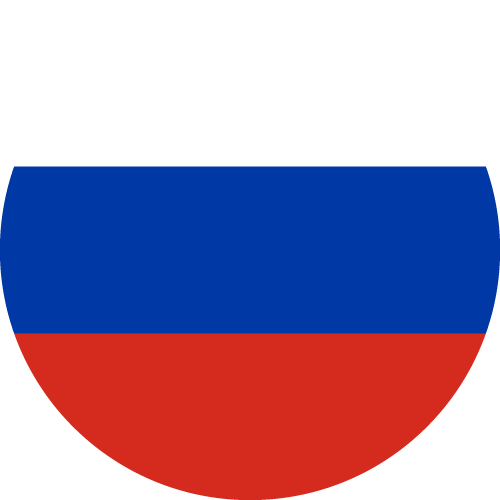 Vector flag of Russia - Circle