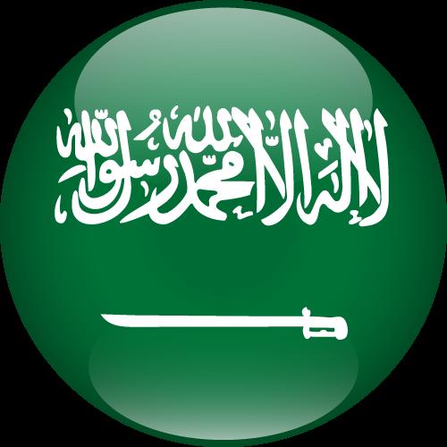 Vector flag of Saudi Arabia - Sphere