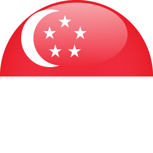 Vector flag of Singapore - Sphere