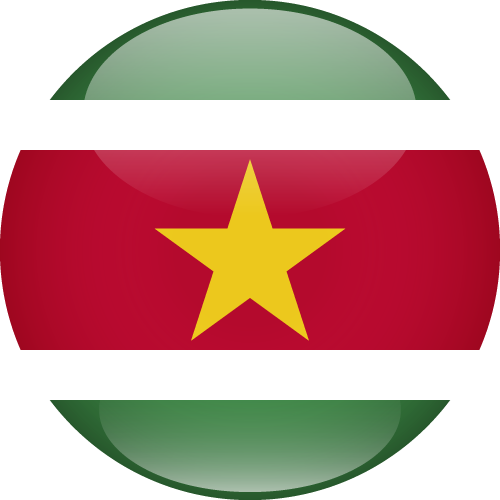 Vector flag of Suriname - Sphere