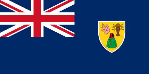 Vector flag of the Turks and Caicos Islands